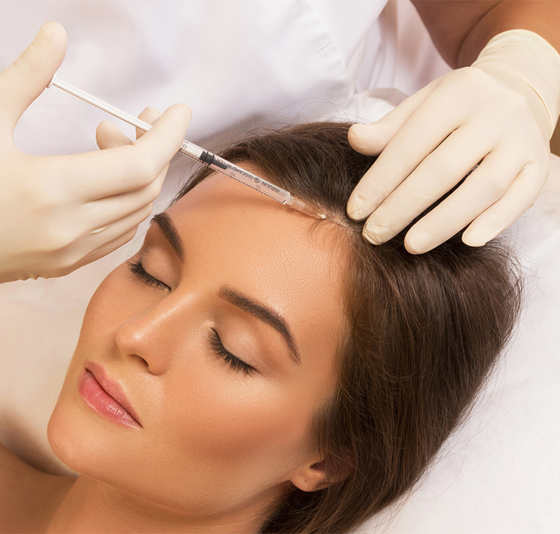 Injection for hair growth